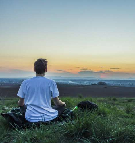 Regular meditation helps to focus attention